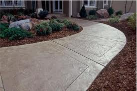 Grey Concrete Walkway Clifton Northern VA