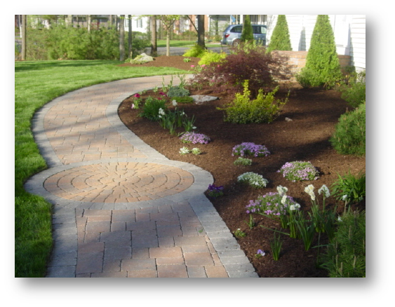 Crecsent Hardscape Design & Construction Stone Virginia Walkway and Landscaping