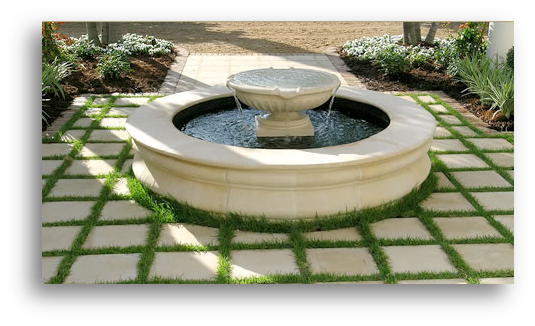 Crecsent Hardscape Design & Construction Stone Virginia and Maryland Outdoor Fountain and Unique Landscaping