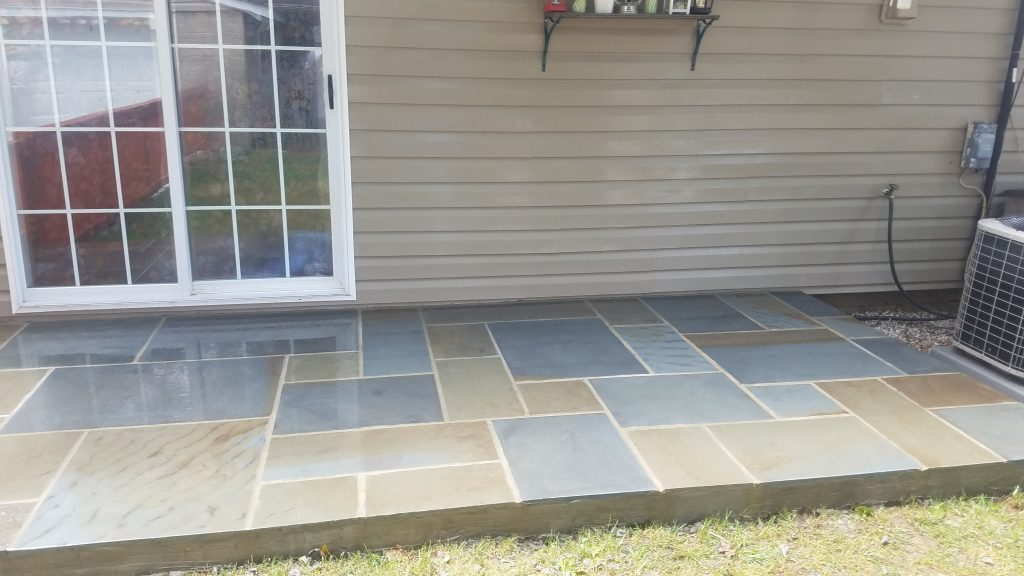 Flagstone Patio Design 2 McLean Virginia CrescentDC