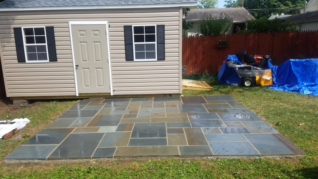 Flagstone Patio Design Construction 2 McLean Virginia CrescentDC