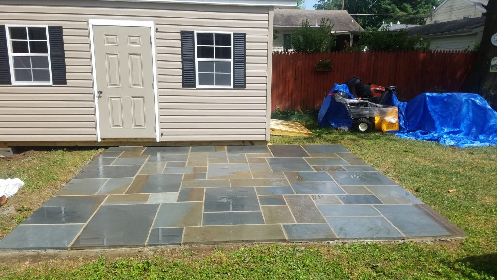 Flagstone Patio Design Construction McLean Virginia CrescentDC