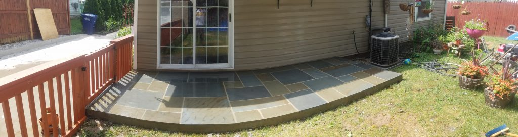 Flagstone Patio Design McLean Virginia CrescentDC