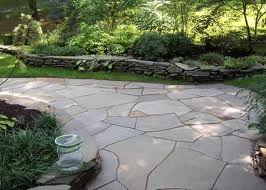 Irregular Shaped Flagstone Northern VA Great Falls