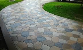 Stamped Concrete Driveway Northern VA