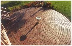 Custom Brick Patio Design