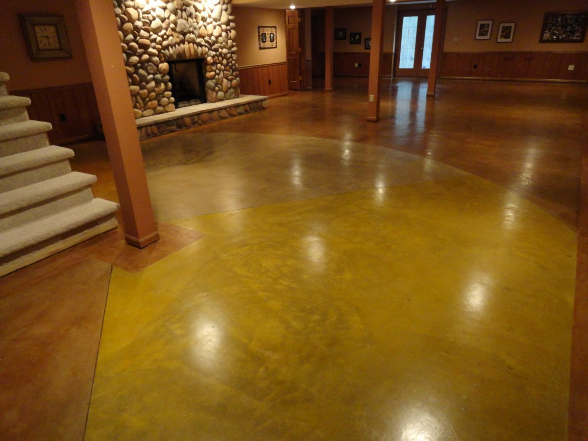 Newly Polished Floor in Home