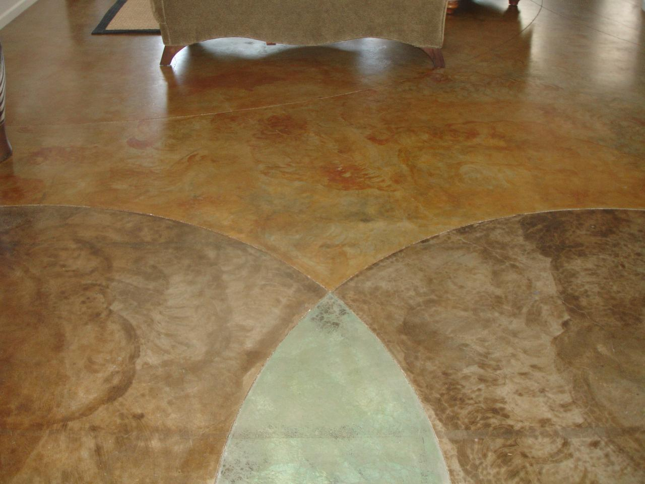 Newly Polished Floor