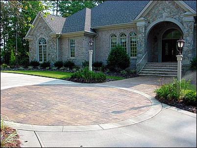 Custom Stone Driveway
