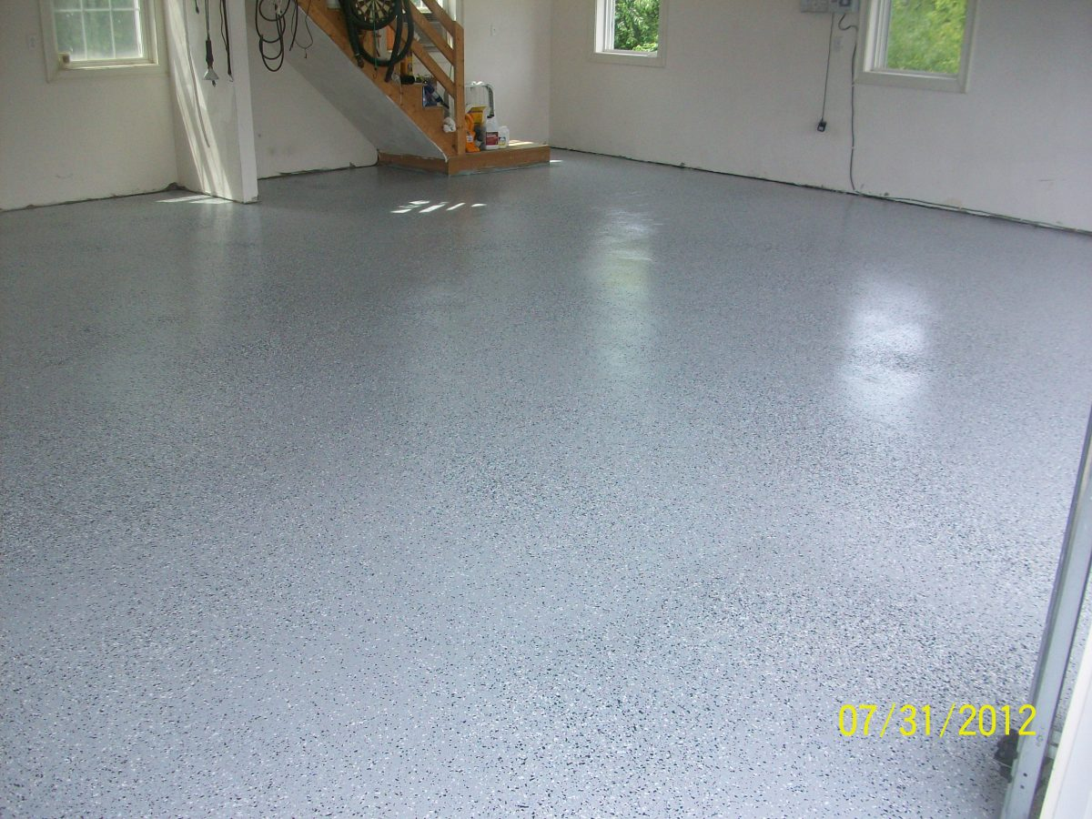 Crescent dc epoxy coating in garage for Flooring companies in my area