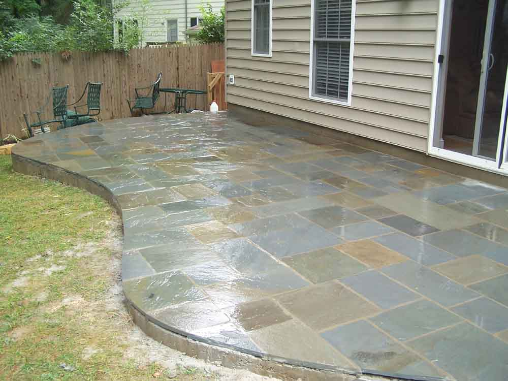 Flagstone patios for Flagstone designs