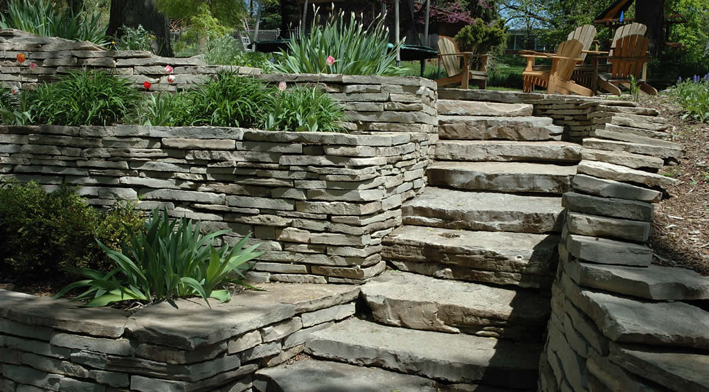 Stone Retaining Walls Northern VA & Fairfax