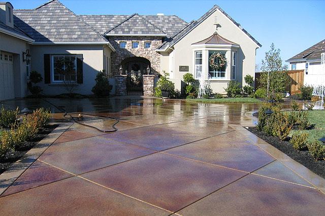 Large Tile Driveway
