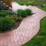 Beautiful Interlocking Brick Walkway