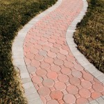 Octagon Brick Paver Walkway