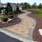 Beautiful Custom Design Paver Walkway