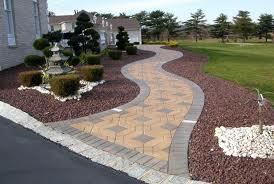 Beautiful Custom Design Paver Walkway