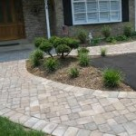 Nice Paver Walkway from Driveway to Front Porch