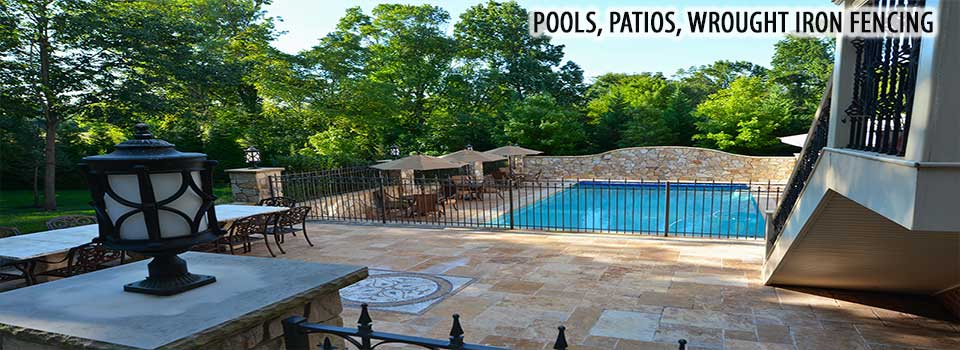North VA Pools Patios and Wrought Iron fencing